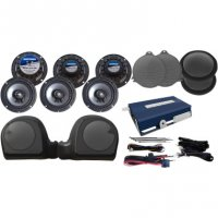 AMP/SIX SPEAKER KIT - HOGTUNES