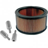 AIR FILTER HIGH-FLOW AND ADAPTER KIT - S&S