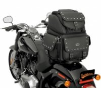 BACKREST, SEAT AND SISSY BAR BAG BR3400EXS - SADDLEMEN