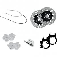 CALIPER & BRAKE KITS REAR 4-PISTON FOR FL TRIKES - PERFORMANCE MACHINE