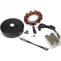 CHARGING KIT HEAVY DUTY 32A - DRAG SPECIALTIES