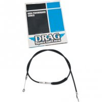 CLUTCH CABLES BLACK VINYL HIGH EFFICIENCY (H.E.) - DRAG SPECIALTIES
