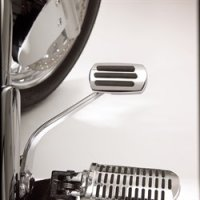 BRAKE PEDALS & COVERS - SHOW CHROME