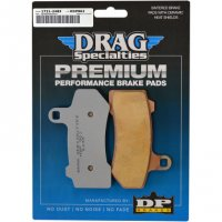 BRAKE PADS PREMIUM SINTERED METAL - DRAG SPECIALTIES