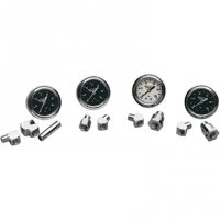 "OIL GAUGE KITS 1 3/4"" DELUXE LIQUID-FILLED"