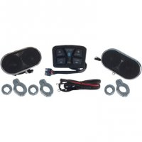 AUDIO KIT UNIVERSAL HANDLEBAR MOUNT - HOGTUNES