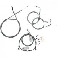 HANDLEBAR STAINLESS CABLE AND LINE KITS - METRIC