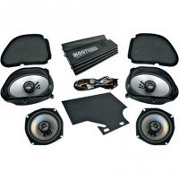 AMP/SPEAKER KIT FOR ROAD GLIDE ULTRA - HOGTUNES