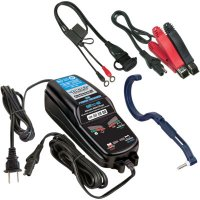 BATTERY POWER CHARGER/MAINTAINER/TESTER OPTIMATE 5 - DRAG SPECIALTIES