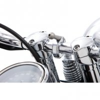 "Accessory Handlebar Mount 1.25"" Bar Chrome"
