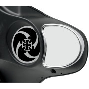 FAIRING MOUNT MIRRORS WITH OR NO BLIND SPOTS - DRAG SPECIALTIES